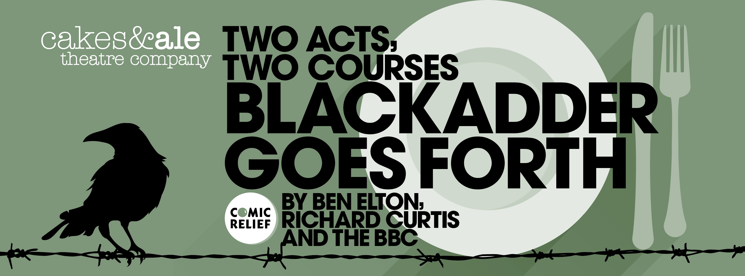 Two Acts, Two Courses - Blackadder goes forth